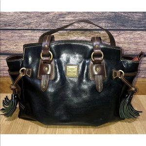 Dooney & Bourke Toledo Florentine Black Purse